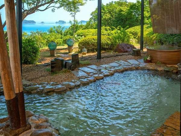 男性用大浴場 露天風呂からの眺め