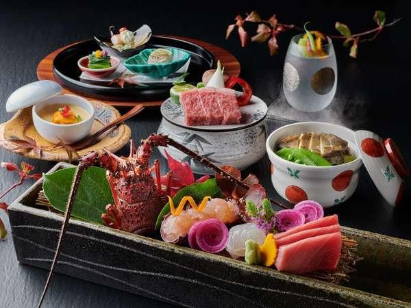 ◆質会席◆ 質を重視した料理が楽しめる会席コース写真はイメージです