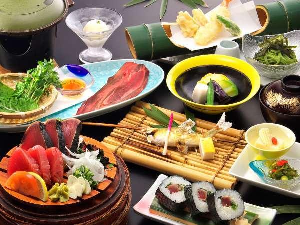 【じゃらん限定★かんぽの宿★ポイント10%】鰹を刺身とタタキ、両方で味わえる◇鰹食べくらべプラン