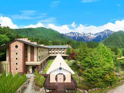 駒ヶ根高原リゾートリンクスの外観