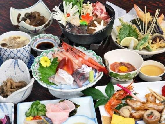 1泊2食【夕食は季節の懐石料理】