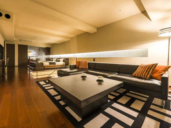 【SUITE】「暮らすように過ごす」という当館のコンセプトを体現したお部屋です。