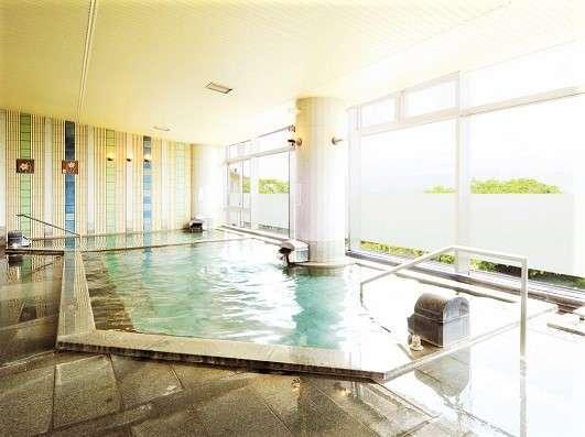 【展望大浴場】福井市内を一望できる展望大浴場