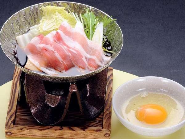 すき焼き〜幻の豚肉〜千代幻豚堪能プラン