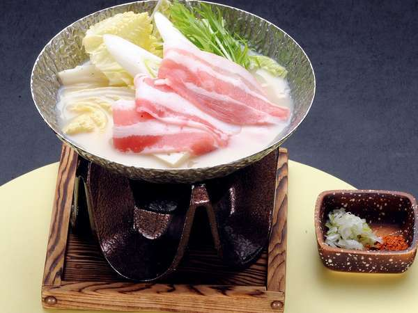 豆乳鍋〜幻の豚肉〜千代幻豚堪能プラン