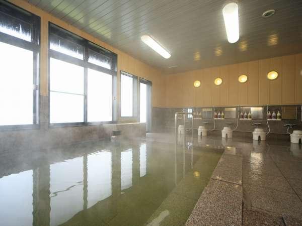 疲れを癒すPH7、6自慢の天然温泉