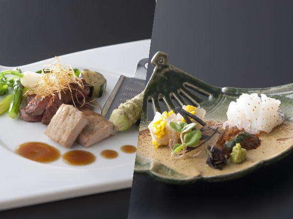 """【スタンダード◇創作和食】~和食と本格フレンチの融合~""""那須の四季彩""""を料理に込めて。"""