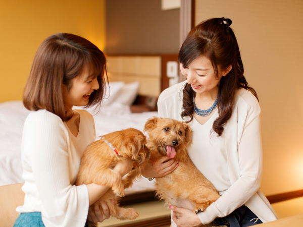 【ワンちゃんと同室宿泊♪】大切なペットと一緒に那須で温泉旅行!ご夕食は『本格 創作イタリアン』