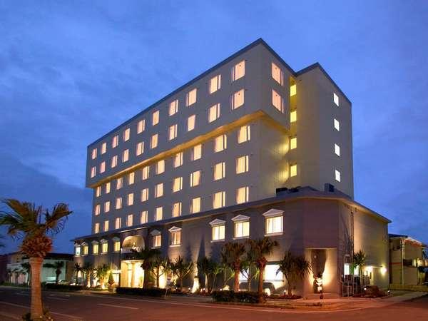 徳之島の中心地に位置した好立地のホテル