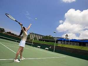 目指せ第2の錦織圭♪♪2日間テニスコート使い放題★1泊2食付フリーテニスプラン