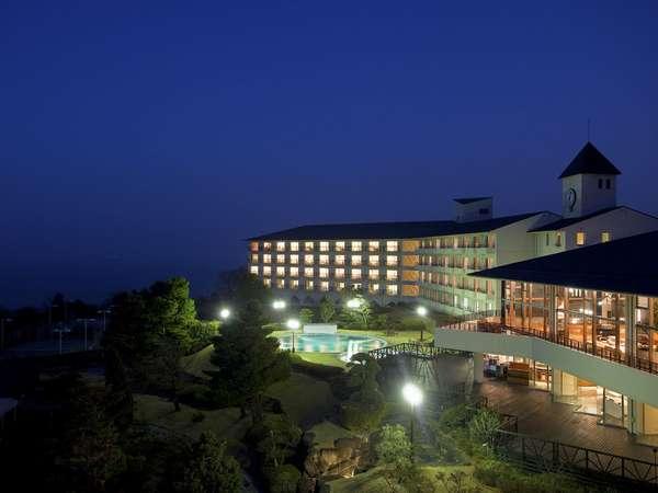 夜のホテル全景★