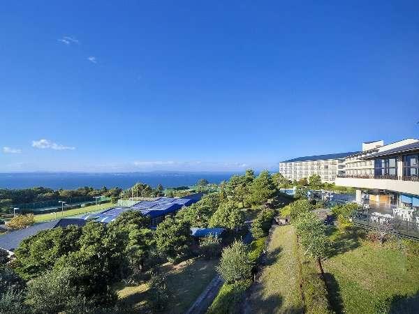 リゾートホテルオリビアン小豆島の外観