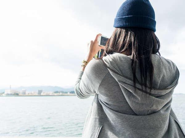 【女子旅】カメラ女子集合!撮りたくなる風景がいっぱい小豆島■朝夕付バイキング■温泉あり!