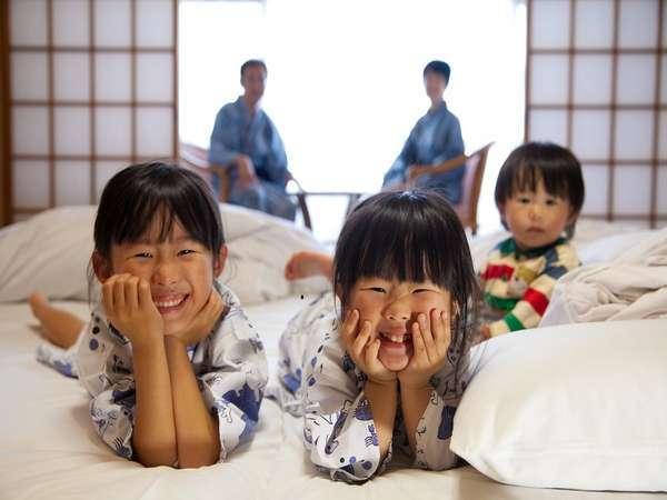 【お得!家族風呂&お布団1枚無料】6歳以下歓迎♪パパ・ママも嬉しい特典付き