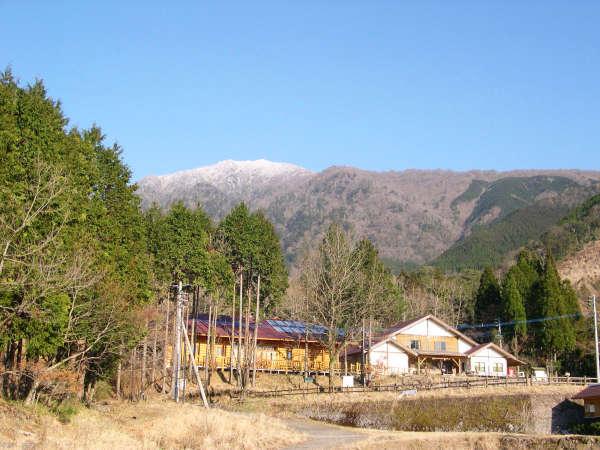 九州中央山地国定公園 市房山キャンプ場の外観