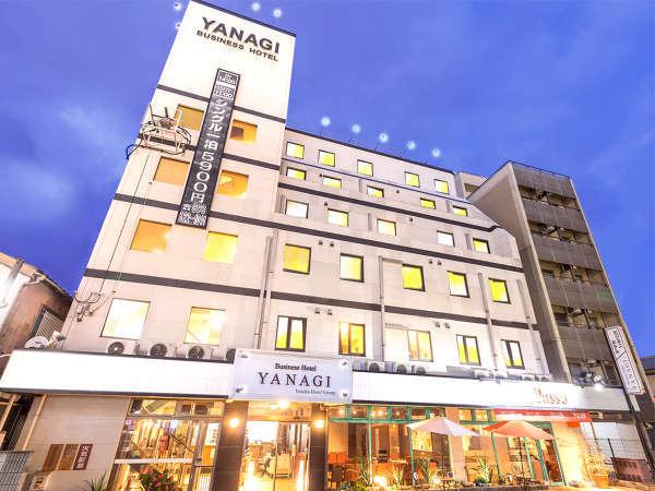 ビジネスホテルYANAGI 小倉駅前の外観