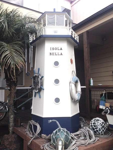 カフェホテル イソラ ベッラ(Isola Bella)