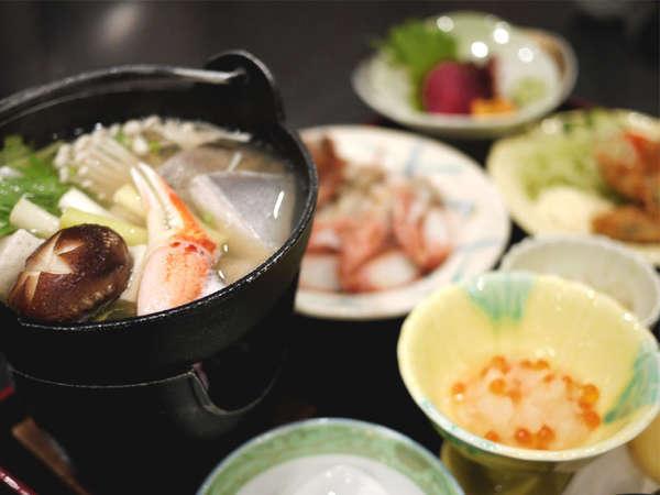 *お夕食(イメージ) 三陸産の海の幸など、季節の味覚を取り入れた和食膳!