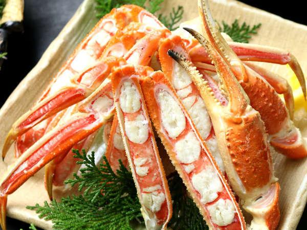 日本海の冬味覚を堪能してください