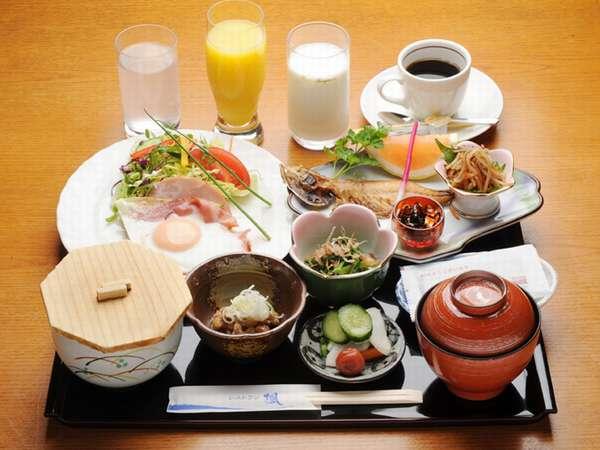 ご朝食(和食)、朝はやっぱりご飯とお味噌汁という方へ!