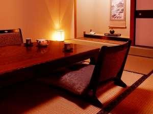 【お部屋食】カップル・家族におすすめ!ゆっくりとした空間でのんびりプラン