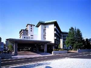 天童グランドホテル舞鶴荘の外観