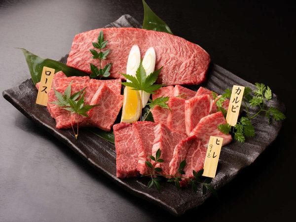 **【厳選山形牛】大判ステーキ・カルビ・ロース・ヒレ