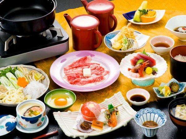 【前沢牛の選べるお鍋会席】奥州名物 前沢牛を選べるお鍋で味わう!