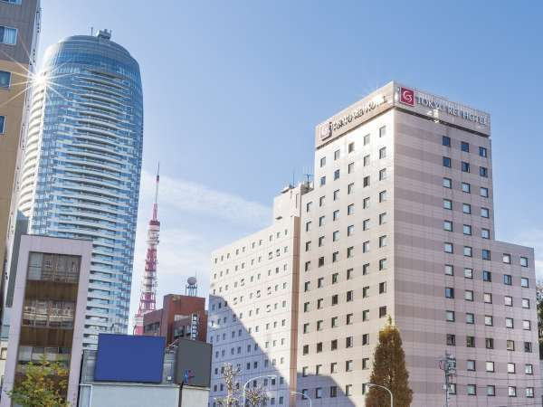 新橋愛宕山東急REIホテルの外観