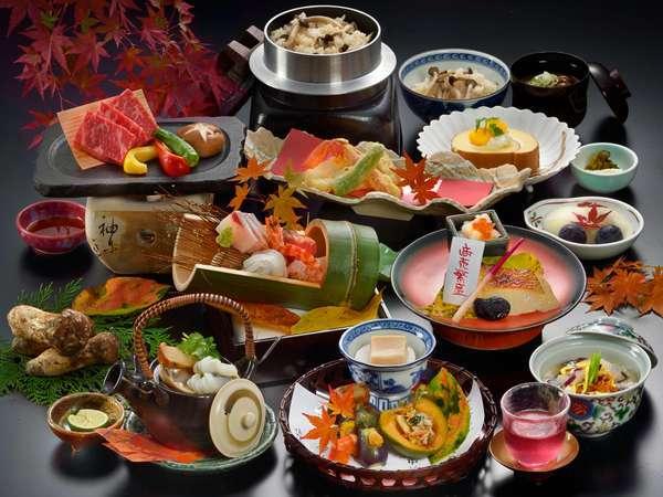 【ホテル一押し】食欲の秋には♪旬のおいしさを堪能☆味覚三昧プラン