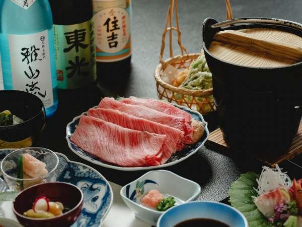 牛肉料理の王道「米沢牛すき焼き」