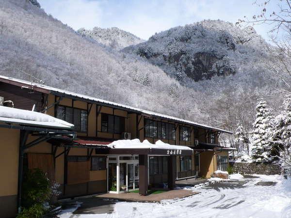 あんきな宿 宝山荘別館の外観