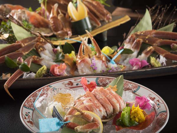 加賀金沢のブランド蟹【加能蟹】で冬を味わう〜至福の萬葉「かに極み懐石」