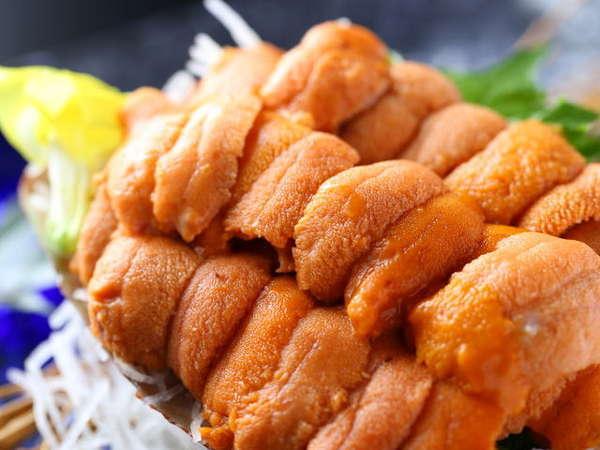 札幌中央市場直送、北海道産の極上・生ウニ 写真提供:じゃらんnet