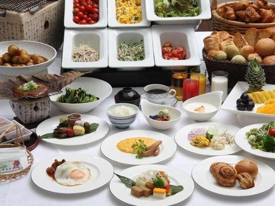 和洋ブッフェor和食膳 お好きなチョイスで朝ごはんを堪能♪