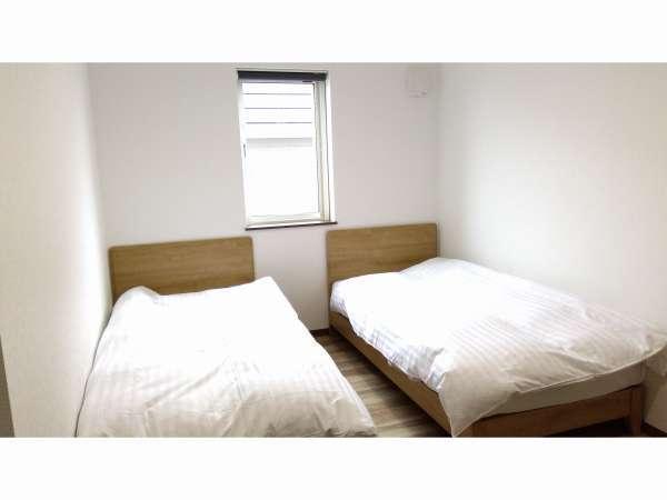 ツインルーム♪広々としたお部屋です。