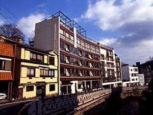 元湯旅館光陽館の外観