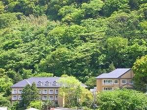 箱根湯本ホテル明日香の外観