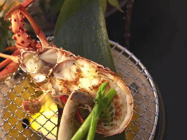【9/1〜10/31 夕食:和食】お造り、焼物で旬の伊勢海老を楽しむ!長崎の味を伊王島で!特上プラン
