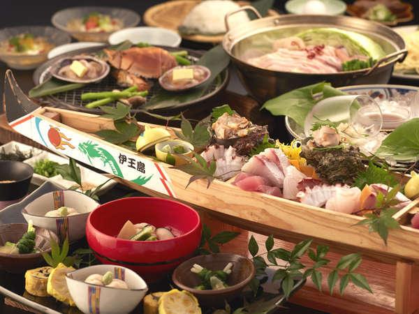 【9/1〜10/31 夕食:和食】海を感じるうちわ海老の磯焼き♪長崎の味を楽しむ☆秋のやすらぎプラン