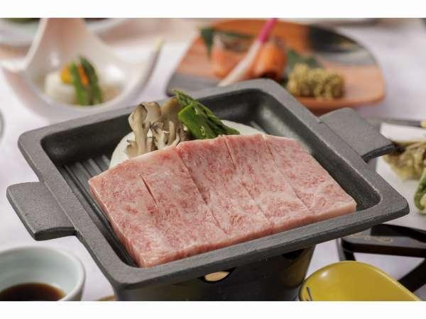 岩手県産牛陶板ステーキ