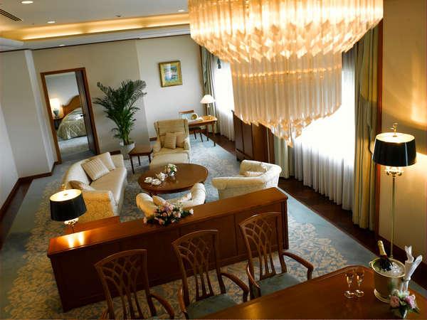 ロイヤルスイートルーム(165平米)広さも設備も他の部屋とは一線を画する、最上級のお部屋です