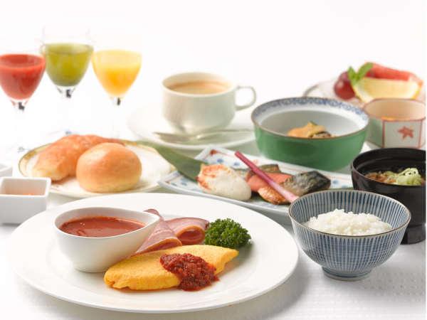 「好きなものを 好きなだけ」普段と違う朝食もオススメです(イメージ)