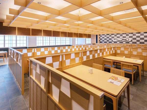 106席をご用意しております。カウンターや、最大8名様ご利用いただける個室も完備。