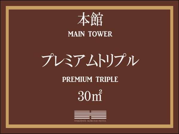 【本館】プレミアムトリプル/30平米