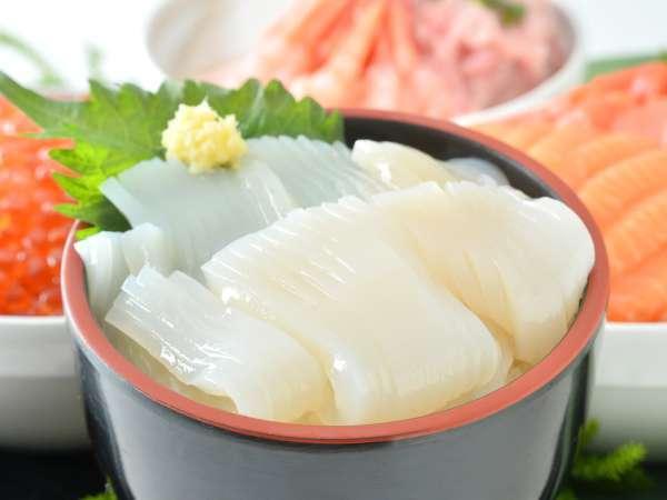 【朝食ビュッフェ】函館名物のいかも!いか丼もオススメ!