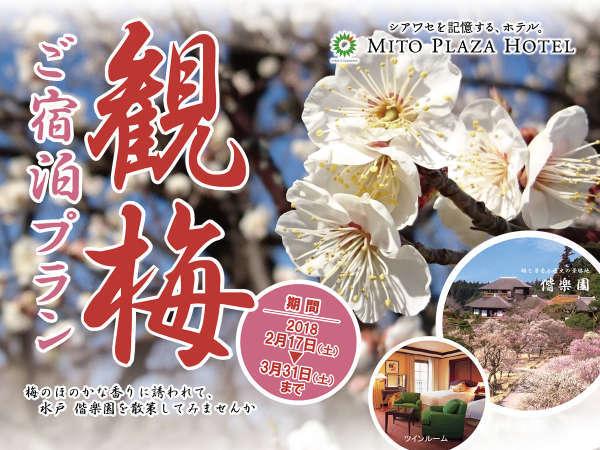 観梅ご宿泊プラン2018【2食付】