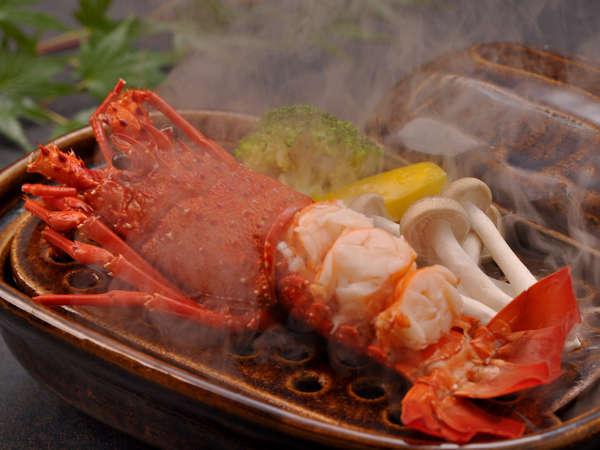 【夕食】海鮮プラン ボイル伊勢エビ