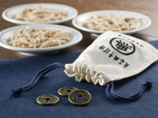 【出石蕎麦を楽しむ】出石皿そば巡りセットプラン【かわいい巾着付き】