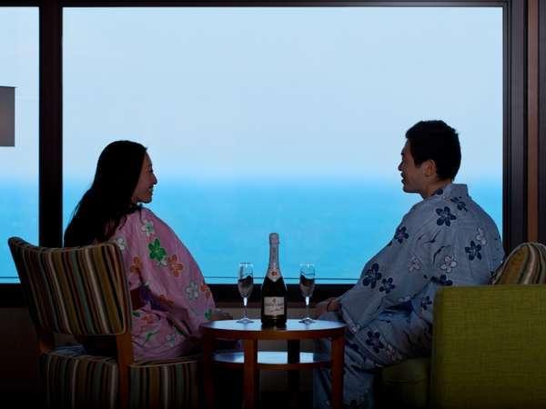 ホテルで過ごす大切な記念日 夕食:季節の和会席